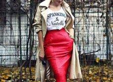 Δερμάτινη φούστα: 35+1 σύνολα που θα αναδείξουν την θηλυκότητα σας - Φώτο  - Κυρίως Φωτογραφία - Gallery - Video 9