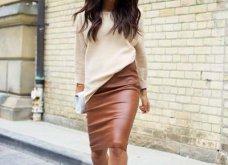 Δερμάτινη φούστα: 35+1 σύνολα που θα αναδείξουν την θηλυκότητα σας - Φώτο  - Κυρίως Φωτογραφία - Gallery - Video 21