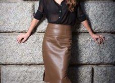 Δερμάτινη φούστα: 35+1 σύνολα που θα αναδείξουν την θηλυκότητα σας - Φώτο  - Κυρίως Φωτογραφία - Gallery - Video 22