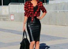Δερμάτινη φούστα: 35+1 σύνολα που θα αναδείξουν την θηλυκότητα σας - Φώτο  - Κυρίως Φωτογραφία - Gallery - Video 24