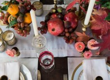 To Elle decor προτείνει26 ιδέεςγια να στολίσετεφθινοπωρινάτο τραπέζι σας - Φώτο - Κυρίως Φωτογραφία - Gallery - Video 9