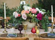 To Elle decor προτείνει26 ιδέεςγια να στολίσετεφθινοπωρινάτο τραπέζι σας - Φώτο - Κυρίως Φωτογραφία - Gallery - Video 14
