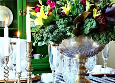 To Elle decor προτείνει26 ιδέεςγια να στολίσετεφθινοπωρινάτο τραπέζι σας - Φώτο - Κυρίως Φωτογραφία - Gallery - Video 15