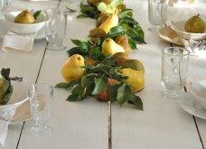 To Elle decor προτείνει26 ιδέεςγια να στολίσετεφθινοπωρινάτο τραπέζι σας - Φώτο - Κυρίως Φωτογραφία - Gallery - Video 17