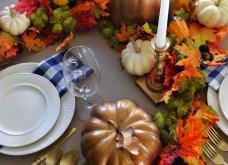 To Elle decor προτείνει26 ιδέεςγια να στολίσετεφθινοπωρινάτο τραπέζι σας - Φώτο - Κυρίως Φωτογραφία - Gallery - Video 19