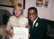1960: Ο μαύρος Σάμι Ντέιβις παντρεύεται την κατάξανθη Σουηδέζα του May Britt - Σάλος αφού απαγορεύονταν οι γάμοι λευκών με μαύρους (φώτο) - Κυρίως Φωτογραφία - Gallery - Video 3