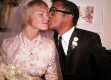 1960: Ο μαύρος Σάμι Ντέιβις παντρεύεται την κατάξανθη Σουηδέζα του May Britt - Σάλος αφού απαγορεύονταν οι γάμοι λευκών με μαύρους (φώτο) - Κυρίως Φωτογραφία - Gallery - Video 4