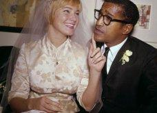 1960: Ο μαύρος Σάμι Ντέιβις παντρεύεται την κατάξανθη Σουηδέζα του May Britt - Σάλος αφού απαγορεύονταν οι γάμοι λευκών με μαύρους (φώτο) - Κυρίως Φωτογραφία - Gallery - Video 5