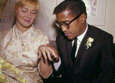 1960: Ο μαύρος Σάμι Ντέιβις παντρεύεται την κατάξανθη Σουηδέζα του May Britt - Σάλος αφού απαγορεύονταν οι γάμοι λευκών με μαύρους (φώτο) - Κυρίως Φωτογραφία - Gallery - Video 6
