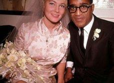1960: Ο μαύρος Σάμι Ντέιβις παντρεύεται την κατάξανθη Σουηδέζα του May Britt - Σάλος αφού απαγορεύονταν οι γάμοι λευκών με μαύρους (φώτο) - Κυρίως Φωτογραφία - Gallery - Video 8
