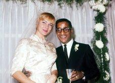 1960: Ο μαύρος Σάμι Ντέιβις παντρεύεται την κατάξανθη Σουηδέζα του May Britt - Σάλος αφού απαγορεύονταν οι γάμοι λευκών με μαύρους (φώτο) - Κυρίως Φωτογραφία - Gallery - Video 11