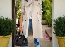 Μπεζ καμπαρντίνα: 30 φαντασμαγορικοί συνδυασμοί για να φοράτε το αγαπημένο σας πανωφόρι πρωί & βράδυ - Φώτο  - Κυρίως Φωτογραφία - Gallery - Video 5