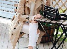 Μπεζ καμπαρντίνα: 30 φαντασμαγορικοί συνδυασμοί για να φοράτε το αγαπημένο σας πανωφόρι πρωί & βράδυ - Φώτο  - Κυρίως Φωτογραφία - Gallery - Video 7