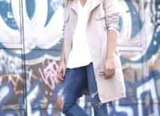 Μπεζ καμπαρντίνα: 30 φαντασμαγορικοί συνδυασμοί για να φοράτε το αγαπημένο σας πανωφόρι πρωί & βράδυ - Φώτο  - Κυρίως Φωτογραφία - Gallery - Video 8