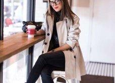 Μπεζ καμπαρντίνα: 30 φαντασμαγορικοί συνδυασμοί για να φοράτε το αγαπημένο σας πανωφόρι πρωί & βράδυ - Φώτο  - Κυρίως Φωτογραφία - Gallery - Video 14