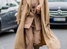 Μπεζ καμπαρντίνα: 30 φαντασμαγορικοί συνδυασμοί για να φοράτε το αγαπημένο σας πανωφόρι πρωί & βράδυ - Φώτο  - Κυρίως Φωτογραφία - Gallery - Video 16