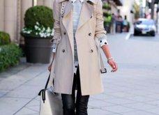 Μπεζ καμπαρντίνα: 30 φαντασμαγορικοί συνδυασμοί για να φοράτε το αγαπημένο σας πανωφόρι πρωί & βράδυ - Φώτο  - Κυρίως Φωτογραφία - Gallery - Video 20