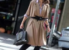 Μπεζ καμπαρντίνα: 30 φαντασμαγορικοί συνδυασμοί για να φοράτε το αγαπημένο σας πανωφόρι πρωί & βράδυ - Φώτο  - Κυρίως Φωτογραφία - Gallery - Video 22