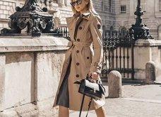 Μπεζ καμπαρντίνα: 30 φαντασμαγορικοί συνδυασμοί για να φοράτε το αγαπημένο σας πανωφόρι πρωί & βράδυ - Φώτο  - Κυρίως Φωτογραφία - Gallery - Video 23