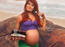 Μεταμόρφωσε έγκυες μανούλες σε πριγκίπισσες της Disney - Υπέροχες όλες τους, μπράβο στον φωτογράφο! - Κυρίως Φωτογραφία - Gallery - Video 4