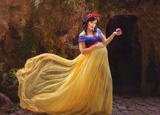 Μεταμόρφωσε έγκυες μανούλες σε πριγκίπισσες της Disney - Υπέροχες όλες τους, μπράβο στον φωτογράφο! - Κυρίως Φωτογραφία - Gallery - Video