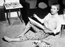 "Vintage beauty pics: Όταν η όμορφη & διάσημη ηθοποιός Τζιν Σίμπεργκ έκοψε ""αγορίστικα"" τα μαλλιά της & έκανε το ""αλά γκαρσόν"" κούρεμα παγκόσμια μόδα (φώτο)  - Κυρίως Φωτογραφία - Gallery - Video 2"