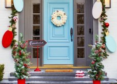 Χριστουγεννιάτικες & λαμπερές προτάσεις για να διακοσμήσετε τον εξωτερικό χώρο του σπιτιού σας γιορτινά (φωτό) - Κυρίως Φωτογραφία - Gallery - Video