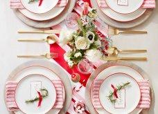 Χριστουγεννιάτικο τραπέζι 2020: Η μέρα του ρεβεγιόν έφτασε - 25 απίθανες ιδέες διακόσμησης για να δημιουργήσετε το πιο γιορτινόart de la table! - Κυρίως Φωτογραφία - Gallery - Video