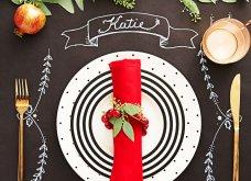Χριστούγεννα: 40 εκπληκτικές ιδέες για το πιο γιορτινό τραπέζι! Βαλτέ χρώματα& πολύ φαντασία - Φώτο   - Κυρίως Φωτογραφία - Gallery - Video 22