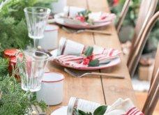 Χριστούγεννα: 40 εκπληκτικές ιδέες για το πιο γιορτινό τραπέζι! Βαλτέ χρώματα& πολύ φαντασία - Φώτο   - Κυρίως Φωτογραφία - Gallery - Video 9
