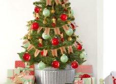 25 εκπληκτικές ιδέες για μικρά δένδρα Χριστουγέννων για σπίτια που δεν έχουν πολύ χώρο - Φώτο - Κυρίως Φωτογραφία - Gallery - Video 11