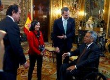 Με Βασιλιά& ΒασίλισσαΙσπανίαςτο ζεύγοςΜητσοτάκη: Το ασύμμετροblack & white της Λετίσια, μίντι all black ηΜαρέβα- Φώτο & Βίντεο - Κυρίως Φωτογραφία - Gallery - Video 2