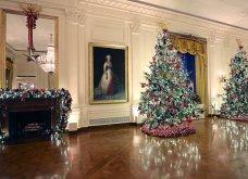 Η Melania Trump μας εύχεται... καλά Χριστούγεννα: Στόλισε τον Λευκό Οίκο με χιλιάδες δένδρα, φωτάκια & πολλά λουλούδια - Φώτο & Βίντεο  - Κυρίως Φωτογραφία - Gallery - Video 7