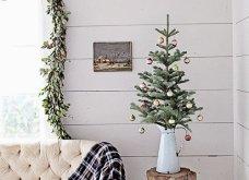 25 εκπληκτικές ιδέες για μικρά δένδρα Χριστουγέννων για σπίτια που δεν έχουν πολύ χώρο - Φώτο - Κυρίως Φωτογραφία - Gallery - Video 17