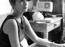 "Vintage beauty pics: Όταν η όμορφη & διάσημη ηθοποιός Τζιν Σίμπεργκ έκοψε ""αγορίστικα"" τα μαλλιά της & έκανε το ""αλά γκαρσόν"" κούρεμα παγκόσμια μόδα (φώτο)  - Κυρίως Φωτογραφία - Gallery - Video 8"
