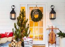 Χριστουγεννιάτικες & λαμπερές προτάσεις για να διακοσμήσετε τον εξωτερικό χώρο του σπιτιού σας γιορτινά (φωτό) - Κυρίως Φωτογραφία - Gallery - Video 29