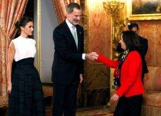Με Βασιλιά& ΒασίλισσαΙσπανίαςτο ζεύγοςΜητσοτάκη: Το ασύμμετροblack & white της Λετίσια, μίντι all black ηΜαρέβα- Φώτο & Βίντεο - Κυρίως Φωτογραφία - Gallery - Video 4
