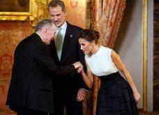 Με Βασιλιά& ΒασίλισσαΙσπανίαςτο ζεύγοςΜητσοτάκη: Το ασύμμετροblack & white της Λετίσια, μίντι all black ηΜαρέβα- Φώτο & Βίντεο - Κυρίως Φωτογραφία - Gallery - Video 6
