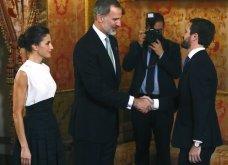 Με Βασιλιά& ΒασίλισσαΙσπανίαςτο ζεύγοςΜητσοτάκη: Το ασύμμετροblack & white της Λετίσια, μίντι all black ηΜαρέβα- Φώτο & Βίντεο - Κυρίως Φωτογραφία - Gallery - Video 3
