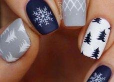 Μανικιούρ - Δεκέμβριος 2019: 40 εντυπωσιακά σχέδια για τα πιο γιορτινά νύχια! Φώτο - Κυρίως Φωτογραφία - Gallery - Video 4