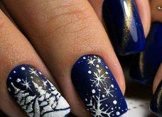 Μανικιούρ - Δεκέμβριος 2019: 40 εντυπωσιακά σχέδια για τα πιο γιορτινά νύχια! Φώτο - Κυρίως Φωτογραφία - Gallery - Video 5