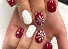 Μανικιούρ - Δεκέμβριος 2019: 40 εντυπωσιακά σχέδια για τα πιο γιορτινά νύχια! Φώτο - Κυρίως Φωτογραφία - Gallery - Video 7