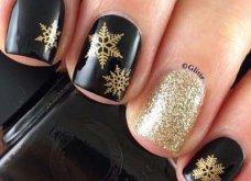 Μανικιούρ - Δεκέμβριος 2019: 40 εντυπωσιακά σχέδια για τα πιο γιορτινά νύχια! Φώτο - Κυρίως Φωτογραφία - Gallery - Video 25