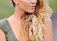 Εντυπωσιακά γυναικεία χτενίσματα με χωρίστρα στο πλάι: 20+ ιδέες για τα πιο όμορφα μαλλιά - Φώτο - Κυρίως Φωτογραφία - Gallery - Video 9