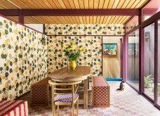 Εκτυφλωτικά χρώματα, πάντρεμα μοτίβων από μια εντυπωσιακή κατοικία της Καλιφόρνιας - Φωτογραφίες για δημιουργική σκέψη - Κυρίως Φωτογραφία - Gallery - Video 3
