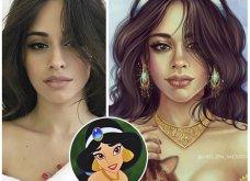 Καλλιτέχνιδα μεταμορφώνει celebrities σε χαρακτήρες της Disney: Απίστευτη ομοιότητα & φαντασία - Φώτο - Κυρίως Φωτογραφία - Gallery - Video 2