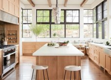 22 φαντασμαγορικές ιδέες για ξύλινες κουζίνες - Φωτεινές, chic & αρχοντικές - Φώτο - Κυρίως Φωτογραφία - Gallery - Video 2