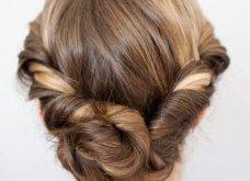 Εντυπωσιακά μαλλιά: 28 ιδέες για ρομαντικό χτένισμα - Κότσο, πλεξούδες ή ανάλαφρα; Φώτο - Κυρίως Φωτογραφία - Gallery - Video 9