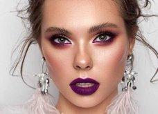 Μακιγιάζ με μωβ κραγιόν: 18 εκπληκτικές ιδέες για make up με σωστές αποχρώσεις - Φώτο  - Κυρίως Φωτογραφία - Gallery - Video 5