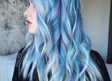 Blue black & γαλάζια μαλλιά: 30 εντυπωσιακές προτάσεις για το πιο δημοφιλές χρώμα της χρονιάς - Φώτο - Κυρίως Φωτογραφία - Gallery - Video 2